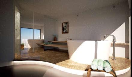 蒸氣浴 by MBquadro Architetti