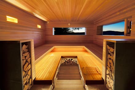 Sauna: design ideas, inspiration & pictures│homify