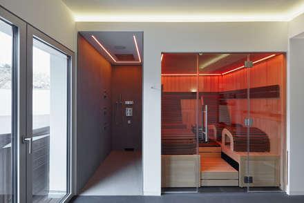 Wellness : minimalistisches Spa von BENJAMIN VON PIDOLL I ARCHITEKTUR