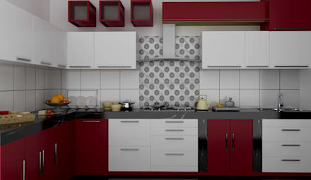 Residential 1 Modern Kitchen By Falcon Resources