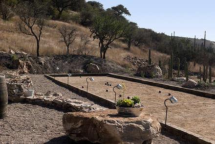 Giardino roccioso in stile  di Hábitas