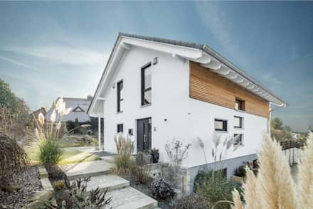 Single family home by wir leben haus