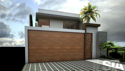 : Garajes y galpones de estilo moderno por Soluciones Técnicas y de Arquitectura