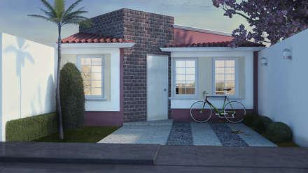 บ้านและที่อยู่อาศัย by LUBAAL construcción y arquitectura