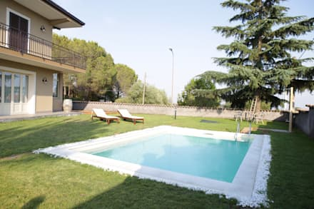 Klassieke zwembad idee n en inspiratie homify - Zwembad interieur design ...