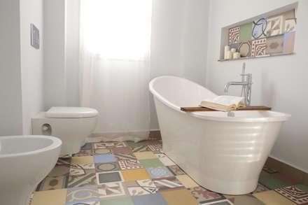 industrial Bathroom by T_C_Interior_Design___