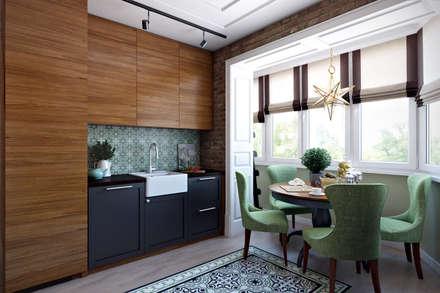 Кухня «Саванна»: Кухни в . Автор – Decolabs Home