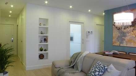 reforma integral y decoracin completa salones de estilo moderno de arantxa muru decoradora