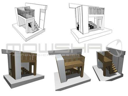 A ideia que ganhou forma e volume: Berçários  por Mowsha tek Design Lda