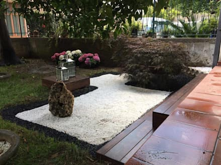 Zen garden by Studio GeSA