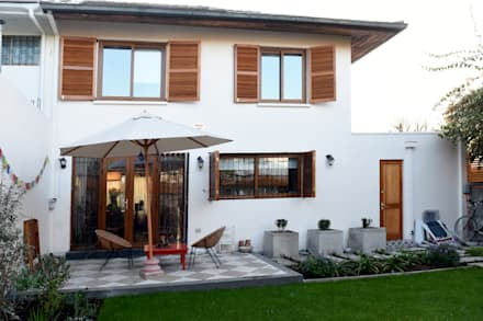 Remodelación Casa Matta: Jardines de estilo moderno por ARCOP Arquitectura & Construcción