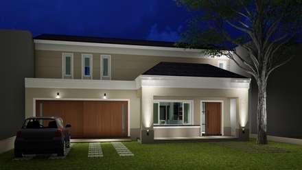: Casas de estilo clásico por ARBOL Arquitectos
