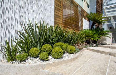 Giardino in stile in stile Tropicale di Le Jardin Arquitectura Paisagística