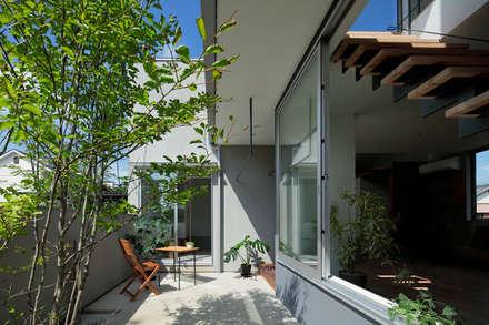 玉村の家: arc-dが手掛けた庭です。