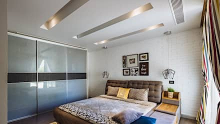 eclectic Bedroom by Hany Saad Innovations