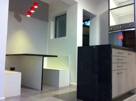 Remodelación Casa Arratia: Comedores de estilo moderno por ARCOP Arquitectura & Construcción