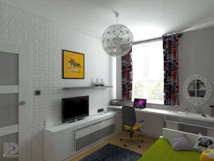 Teen bedroom by HD PROJEKT