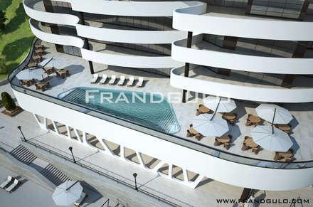 Дом в парке: Дома с террасами в . Автор – Frandgulo