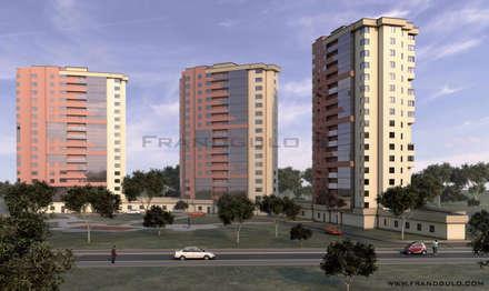 Проект высотного здания: Многоквартирные дома в . Автор – Frandgulo
