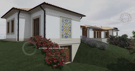 Traditional Habitation: Casas de campo  por Optimize Caprice LDA - Atelier de Arquitectura