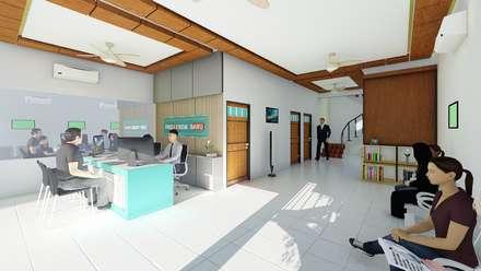 HUM Laboratory:  Ruang Kerja by sorlaarchitecs