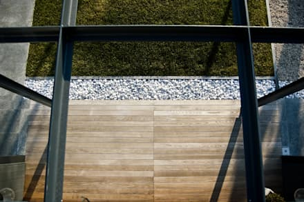 C A S A  C - P: Casetta da giardino in stile  di AD progetto