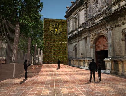 Museos de estilo  por Arketzali Taller de Arquitectura