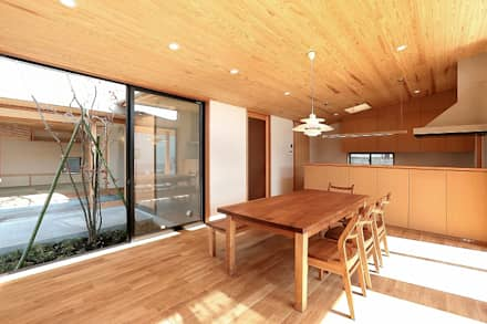 LDK: TEKTON | テクトン建築設計事務所が手掛けたリビングです。