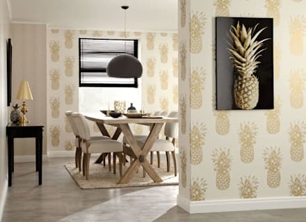 tropical Dining room by SK Concept Duvar Kağıtları ve Kumaş