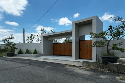 ประตู by 夏沐森山設計整合