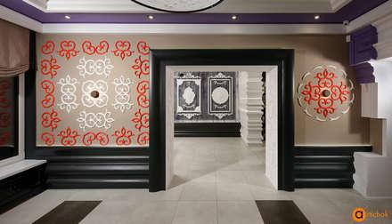 Максимальное использование возможностей декора лепниной в интерьере: Коммерческие помещения в . Автор – Art-i-Chok