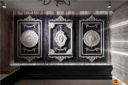 Варианты оформления дизайна интерьера лепниной: Коммерческие помещения в . Автор – Art-i-Chok