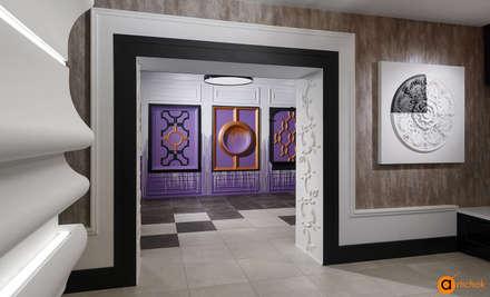 Дизайн интерьера коммерческого помещения в фиолетовом цвете: Коммерческие помещения в . Автор – Art-i-Chok