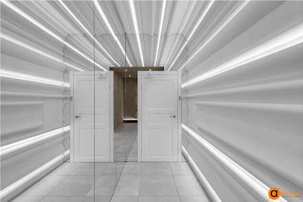 Фактурный дизайн интерьера фото: Коммерческие помещения в . Автор – Art-i-Chok