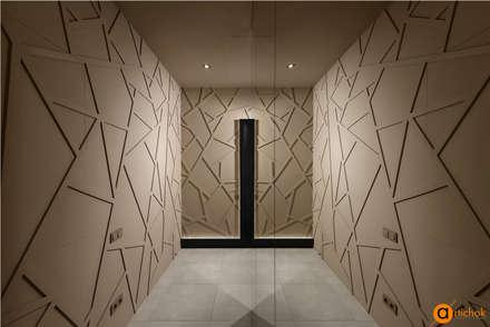 Фактурная штукатурка в дизайне интерьера: Коммерческие помещения в . Автор – Art-i-Chok