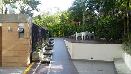 Venta de exclusivo  apartaestudio en Cristales: Pasillos y vestíbulos de estilo  por CH Proyectos Inmobiliarios