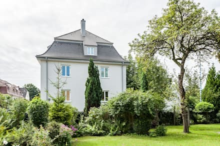 Stadthaus Rosenheim:  Einfamilienhaus von Architekturbüro Schaub