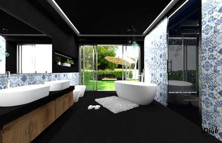 Una piccola SPA privata: Bagno in stile in stile Eclettico di IDlab