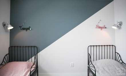 غرفة نوم مراهقين  تنفيذ 홍예디자인