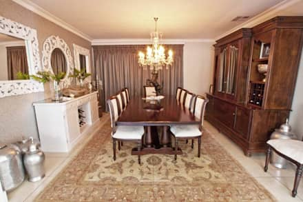 House Watkins : Classic Dining Room By Redesign Interiors