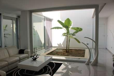 modern Conservatory by Architetto Valentina Longo