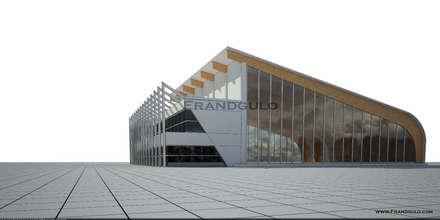 Торговый центр: Дома с террасами в . Автор – Frandgulo