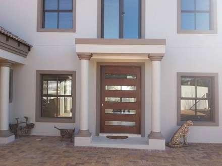 Honeydew: modern Houses by A Fox Construction SA Pty Ltd