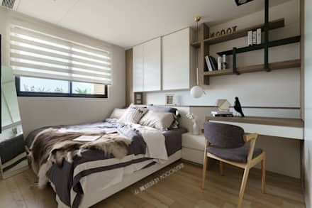 ห้องนอน by Moooi Design 驀翊設計