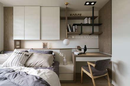 scandinavian Bedroom by 驀翊室內裝修設計有限公司
