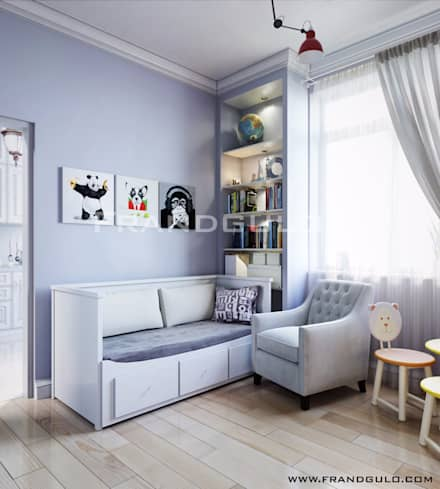 Boys Bedroom by Frandgulo