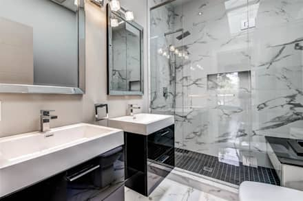 Elderfield Cres: modern Bathroom by Contempo Studio