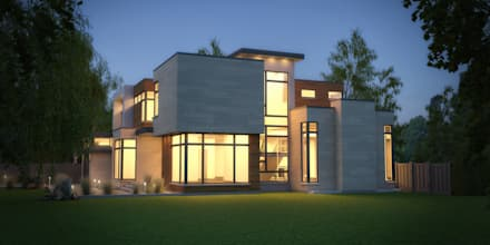 Hixon St: modern Houses by Contempo Studio