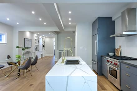 Glen Rd: minimalistic Kitchen by Contempo Studio