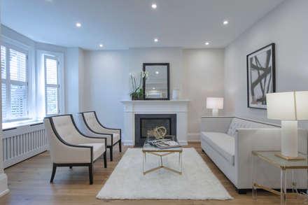 Glen Rd: minimalistic Living room by Contempo Studio
